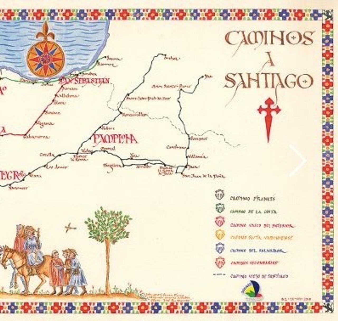 Camino de Santiago meval