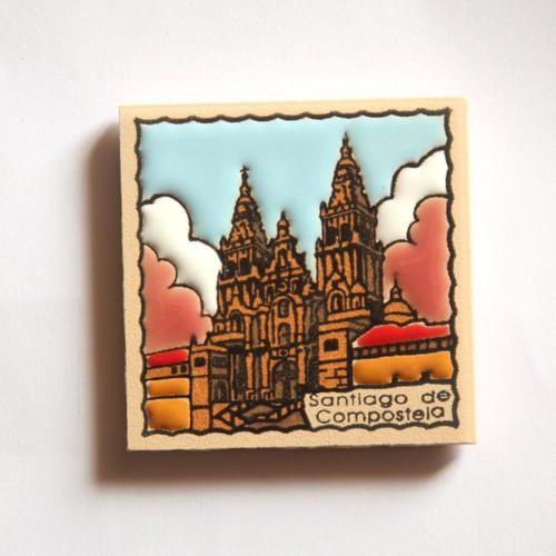 Camino de Santiago Pilgrim Tile Way Of St. James Fridge magnet (1 of 5)