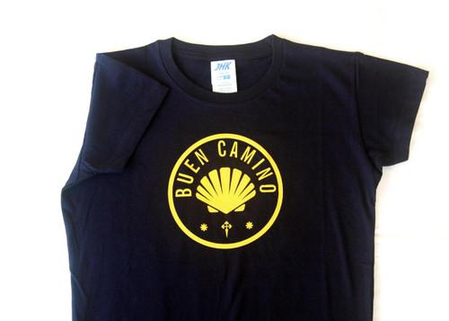 "Camino De Santiago ""Buen Camino"" T Shirt Size S Women"