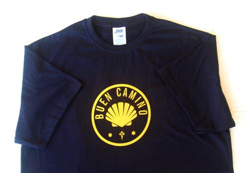 "Camino De Santiago ""Buen Camino"" T Shirt Size M Men"