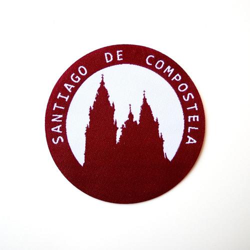 Camino de Santiago de Compostela Cathedral Pilgrim Cloth Patch Souvenir