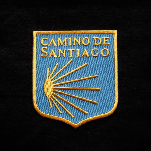 Camino de Santiago Pilgrim Scallop Shell Patch