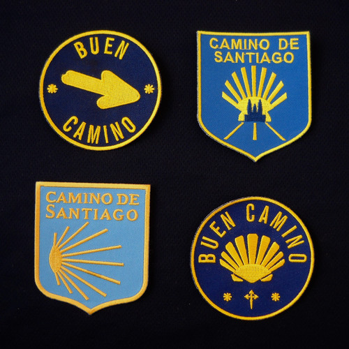Spanish Door Blues - Camino de Santiago Backpack Patch Set