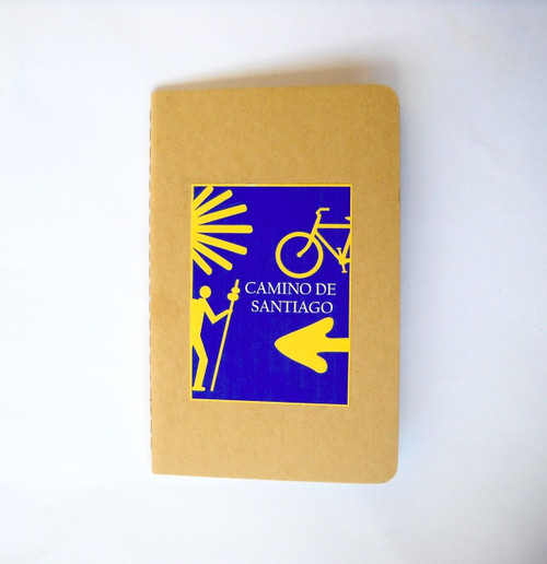 Camino de Santiago Pilgrim Souvenir Gift Diary Notebook
