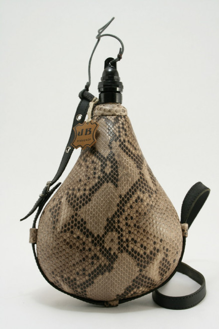 Python Snake Skin Luxury Wine Skin Wineskin