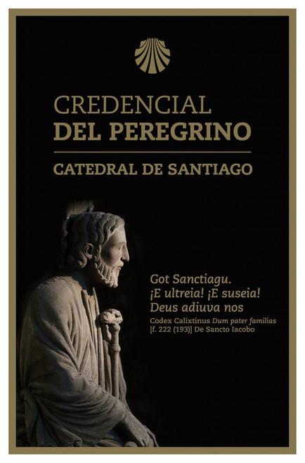 """The Official Cathedral of Santiago de Compostela """"Credencial del Peregrino"""""""