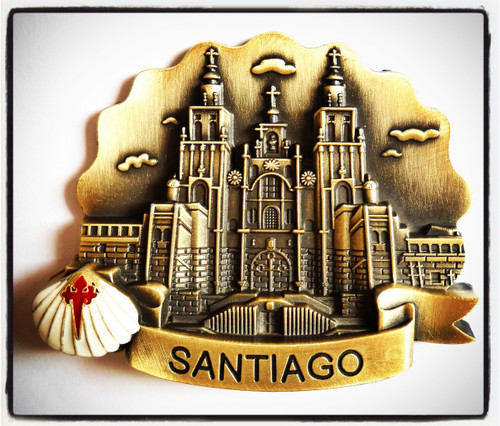 Santiago de Compostela Cathedral Fridge Magnet