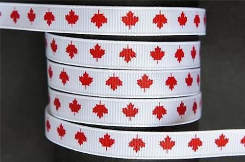 Canada (Canadian) Maple Leaf Ribbon
