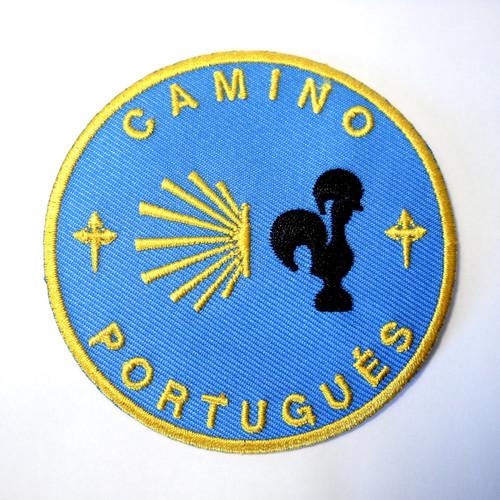 Camino Portugués Backpack Patch
