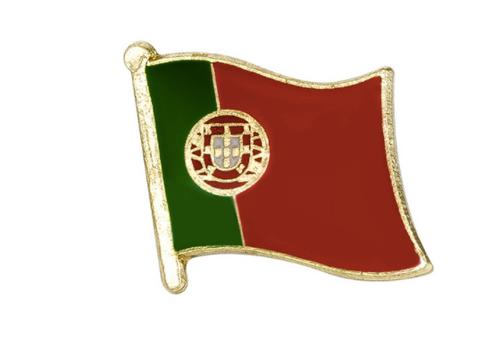 Portugal flag lapel pin