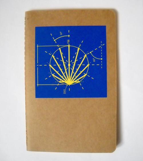 Camino de Santiago Pilgrim Souvenir Diary / Notebook