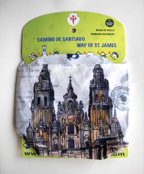 Camino de Santiago de Compostela Cathedral Pilgrim Multifunctional Headgear / Headwear