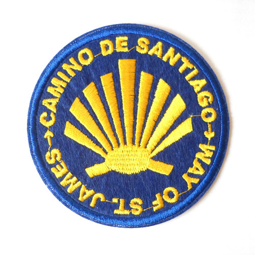 Camino de Santiago Way of St. James Patch / Badge