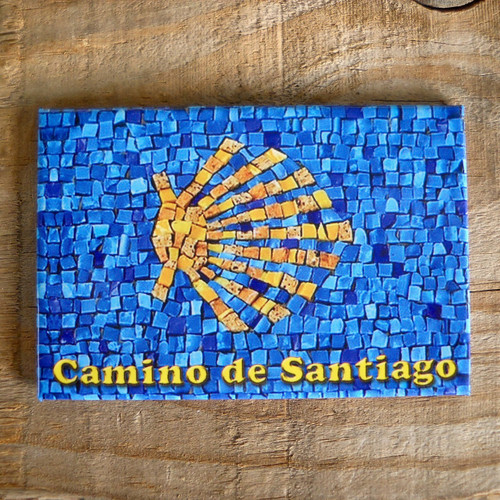 Camino de Santiago de Compostela Souvenir Magnet