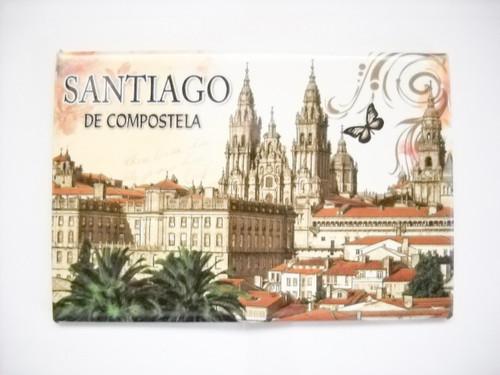Santiago de Compostela Camino Way Souvenir Magnet