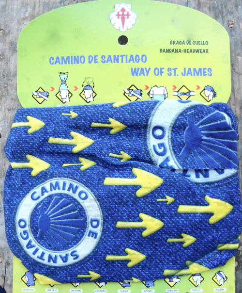 Camino de Santiago shell and arrow Multifunctional Headgear / Headwear