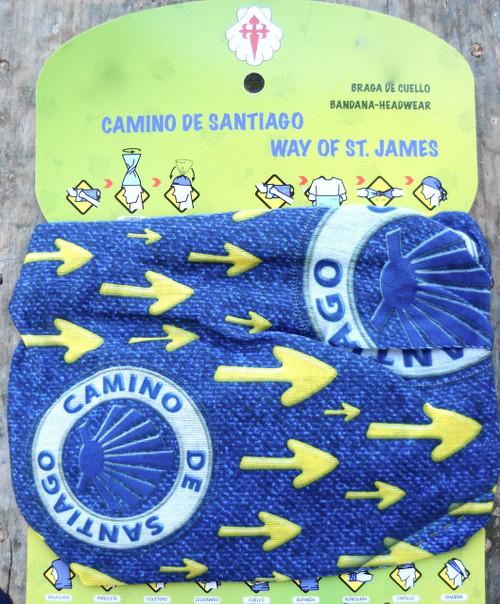 Camino de Santiago shell and arrow Multifunctional Headgear / Headwear