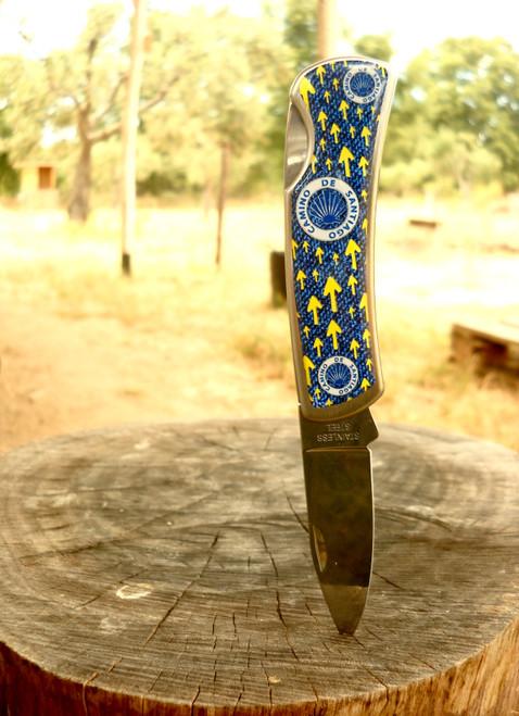 Camino De Santiago Pilgrim Souvenir Pocket Knife