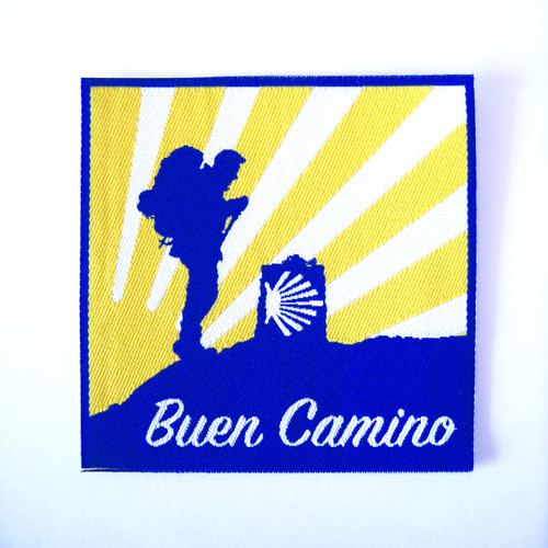 Camino de Santiago The Way pilgrim backpack patch