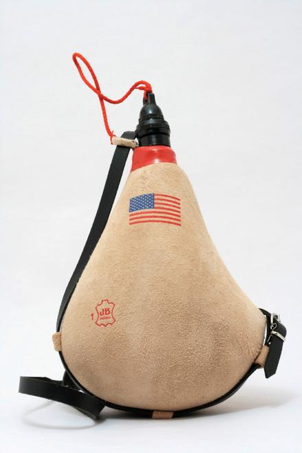 Spanish Leather bota bag United States Flag Wineskin