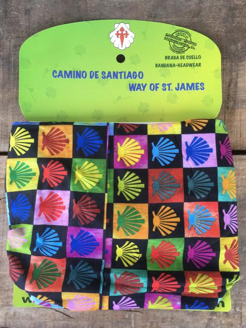 Camino de Santiago Pilgrim Multifunctional Scallop Shell Headgear / Headwear