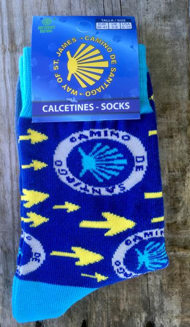 Camino de Santiago socks