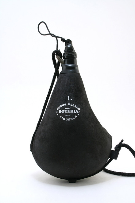 Bota bag suitable for any beverage. Straight, Black.