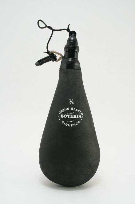 Spanish Bota de Vino Leather 3/4 Liter Bag Wineskin Wine Skin Made in Spain