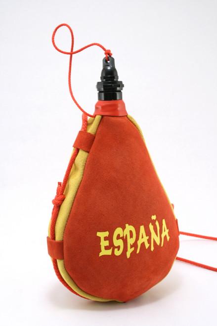 Spanish Bota de Vino Leather Bag Wine Skin Spain Series 1 Liter Wineskin New