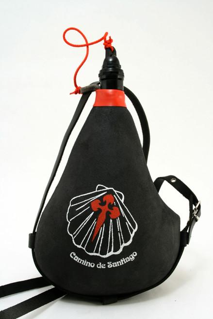 Camino De Santiago Wineskin Pilgrim Leather bag Wine Skin Souvenir