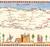 Camino de Santiago medieval map
