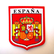 Marbella Spain Shield Embroidered Patch
