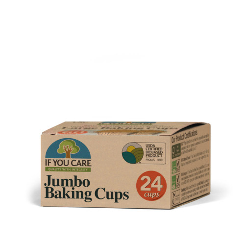 If You Care Jumbo Baking Cups 24ct
