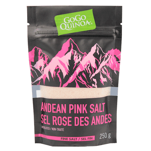 GoGo Quinoa Pink Salt Andes Mountains Table 250g