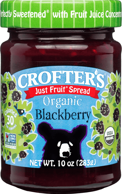 Crofters Organic Blackberry Jam 235ml