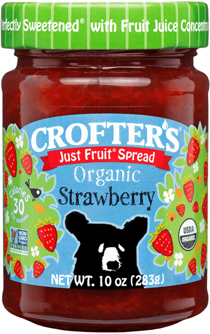 Crofters Organic Strawberry Jam 235ml