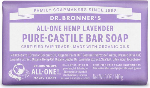 Dr. Bronner's Magic Bar Soap Lavender
