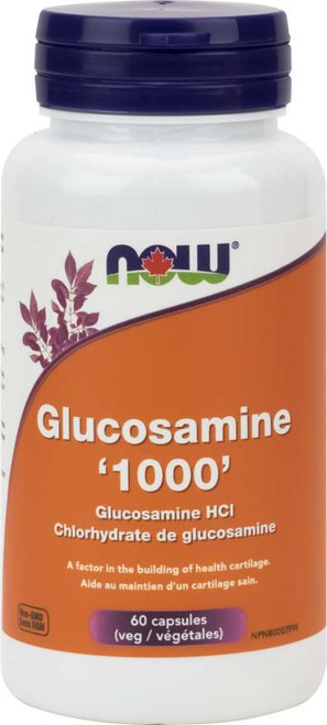 NOW Glucosamine HCL 1000 mg 180 caps