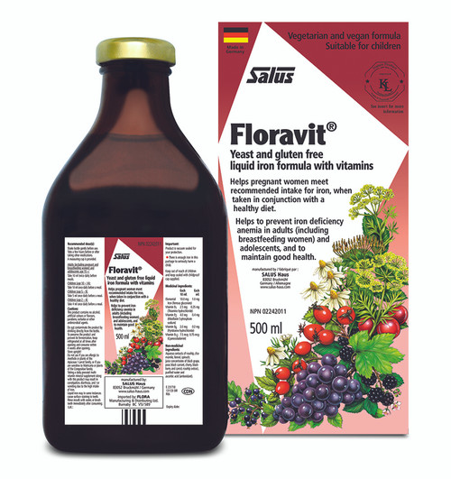 FLORA Floravit Yeast Free Iron 500ml