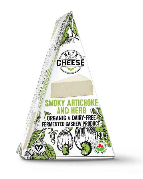 Nuts for Cheese - Smoky Artichoke & Herb - 120g