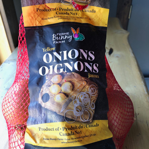 Yellow Cooking Onions (2lb bag)