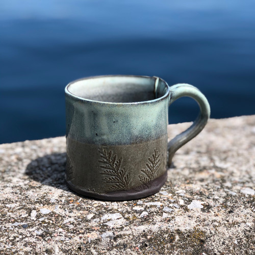 Handmade Mugs - Feather and Fern