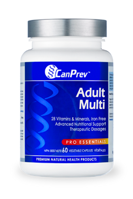 CanPrev Adult Multivitamin - 60 caps