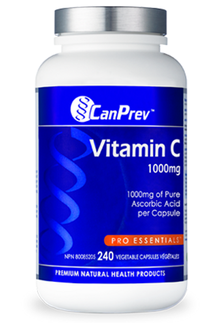CanPrev Vitamin C - 1000mg (240 caps)