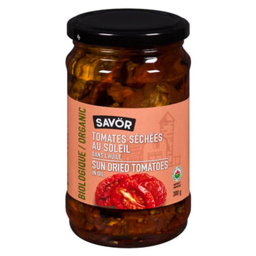 Organic Sundried Tomatoes in Oil - Savor 300g
