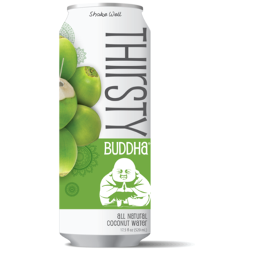 Thirsty Buddha Coconut Water Can 490ml