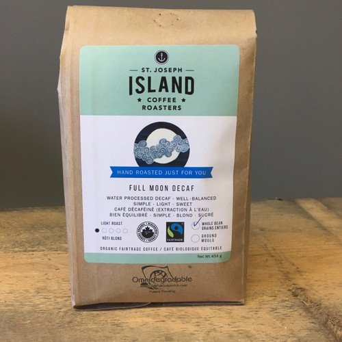 St. Joseph Island Coffee - Full Moon Decaf