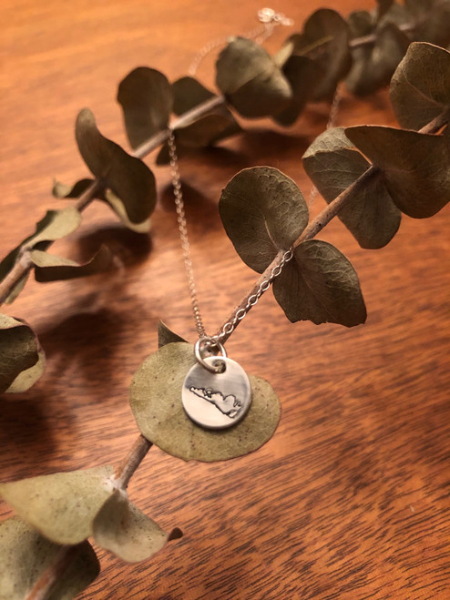 Sterling Silver Manitoulin Necklace