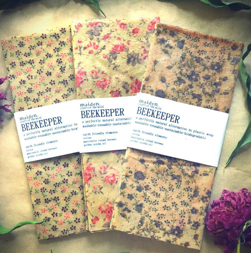 Maiden Manitoulin Beeswax Wraps Display