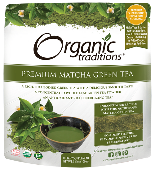 Organic Traditions-Premium Matcha Tea 100g